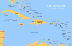 Large Map Of The Caribbean | Click On The Thumbnail Map Below To See – Maps Of Caribbean Islands Printable