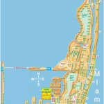 Large Miami Beach Maps For Free Download | High Resolution And   Miami City Map Printable