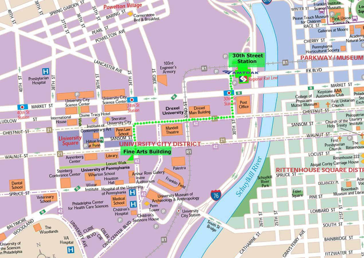 Large Philadelphia Maps For Free Download And Print | High - Printable Map Of Philadelphia