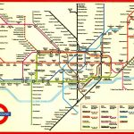 Large Print Tube Map Pleasing London Underground Printable With And   Printable London Underground Map