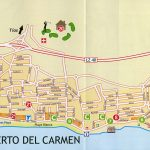 Large Puerto Del Carmen Maps For Free Download And Print | High – Printable Map Of Playa Del Carmen