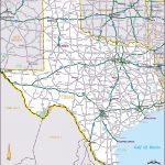 Large Roads And Highways Map Of The State Of Texas | Vidiani   Large Texas Map