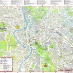 Large Rome Maps For Free Download And Print | High Resolution And   Printable Map Of Rome Tourist Attractions
