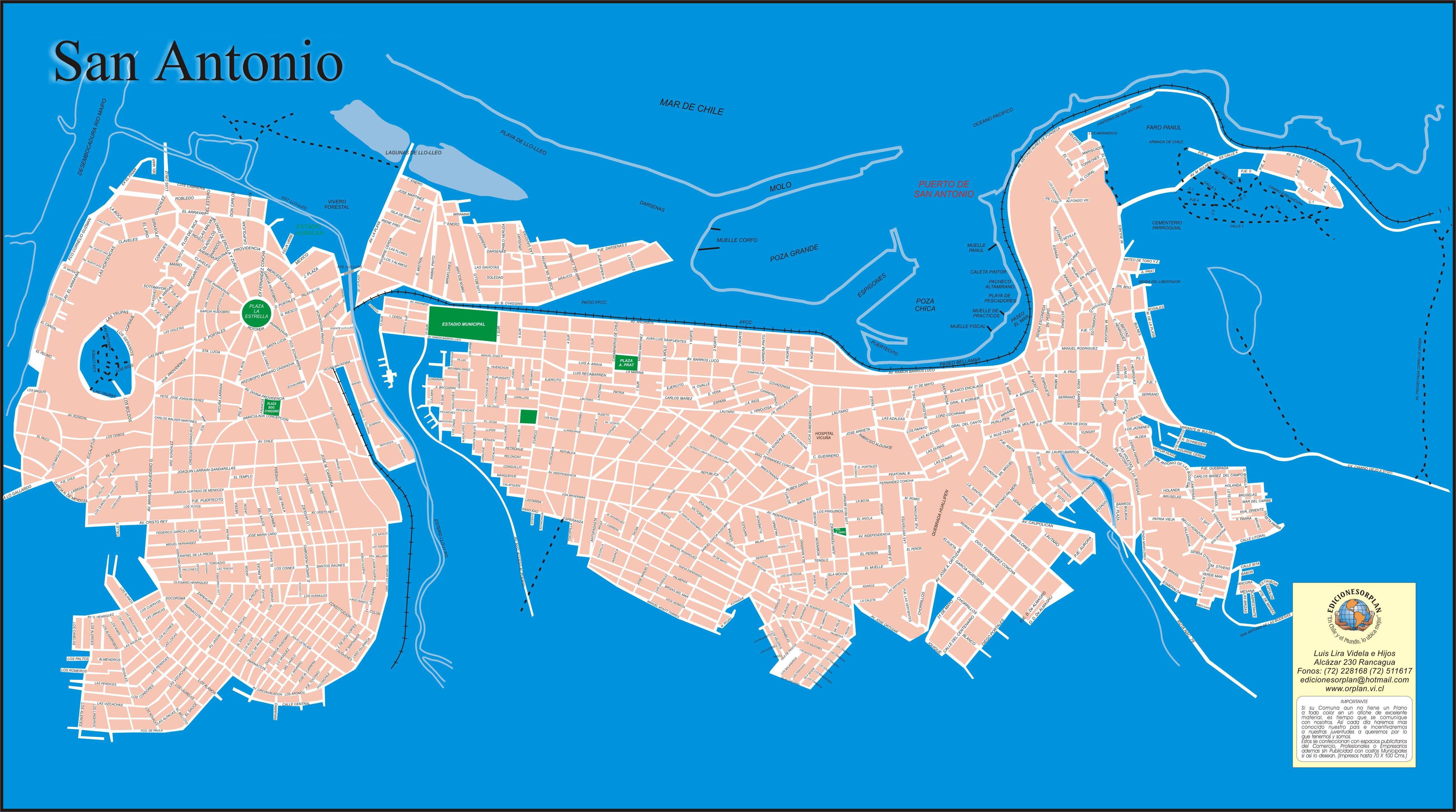 Large San Antonio Maps For Free Download And Print | High-Resolution - San Antonio Texas Maps