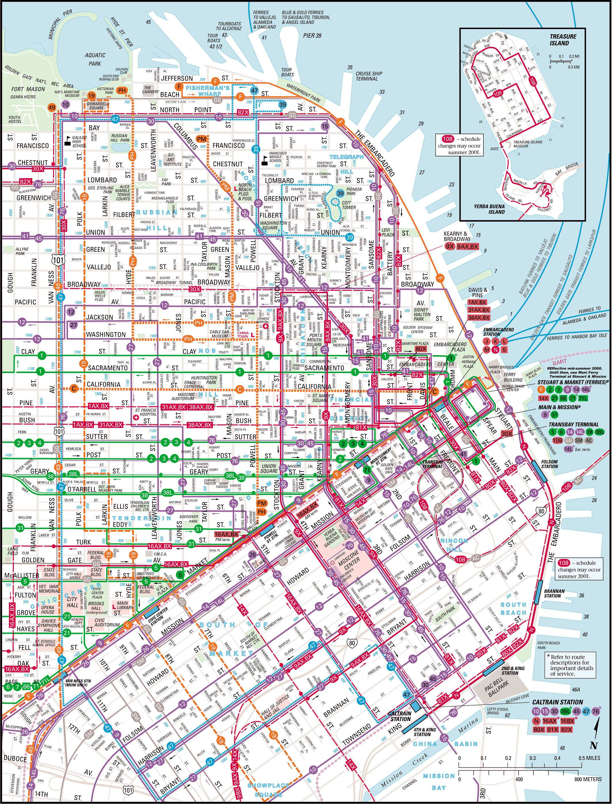 Large San Francisco Maps For Free Download And Print | High - San Francisco City Map Printable
