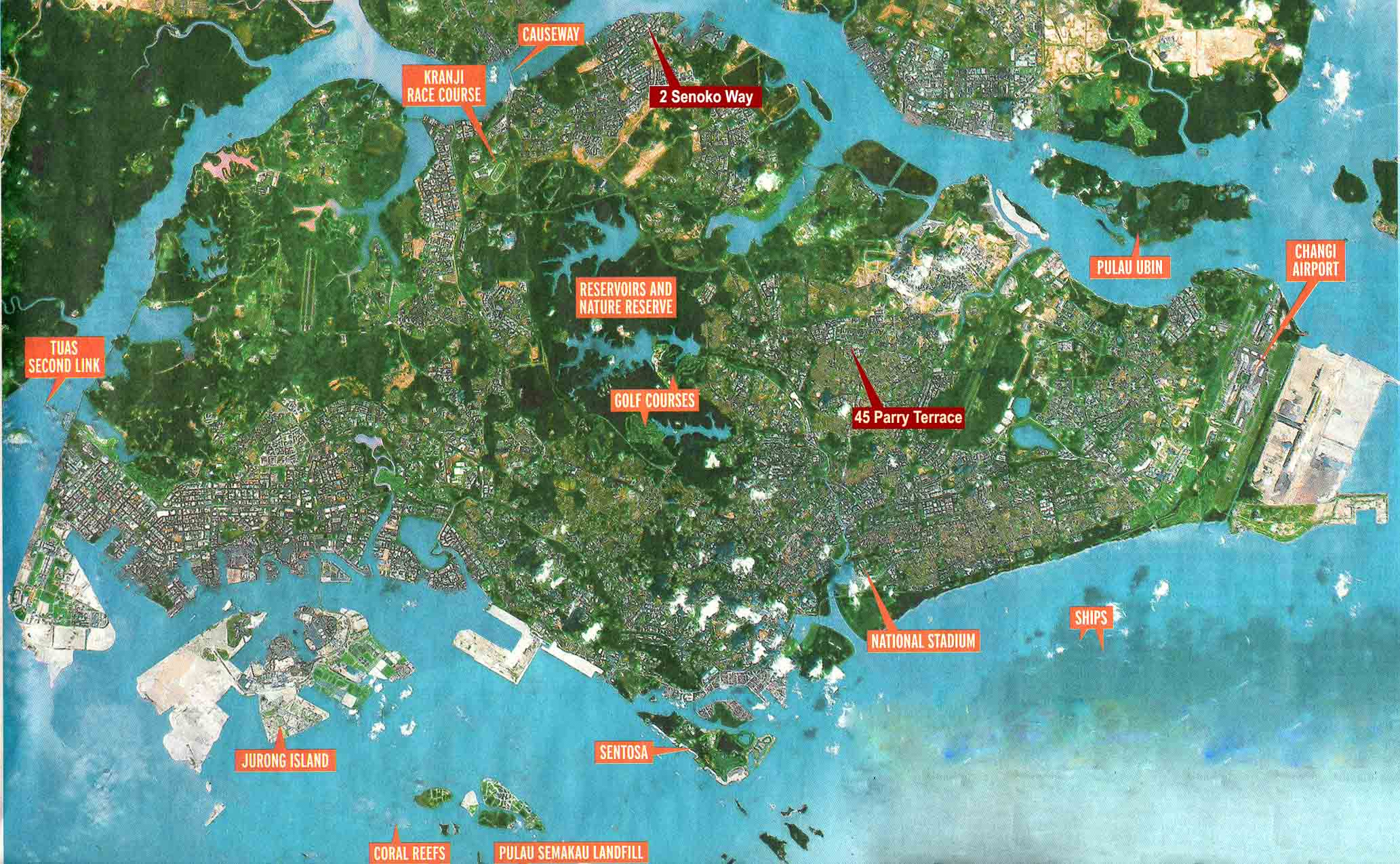 Large Singapore City Maps For Free Download And Print | High - Printable Satellite Maps