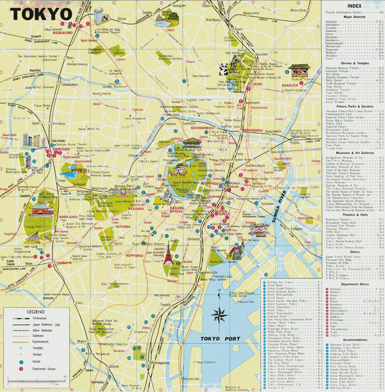 Large Tokyo Maps For Free Download And Print | High-Resolution And - Printable Map Of Tokyo