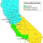 Larry J. Sabato's Crystal Ball » California Dreamin': Carving The   Three State California Map
