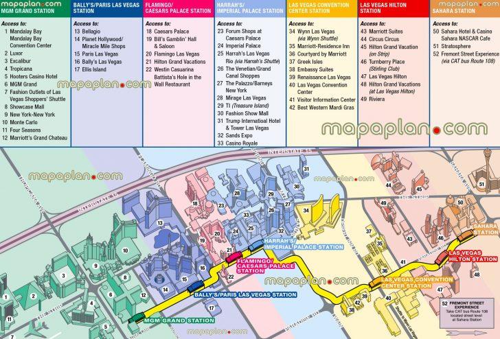 Printable Las Vegas Street Maps