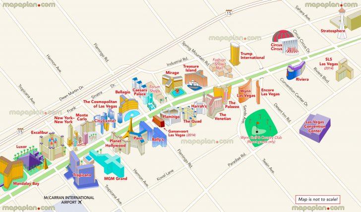 Free Printable Map Of The Las Vegas Strip