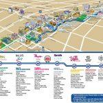 Las Vegas Strip Hotels Map And Travel Information   Download Free   Free Printable Map Of The Las Vegas Strip
