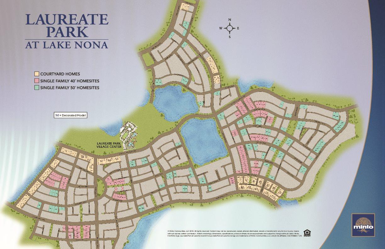 Laureate Park At Lake Nona In Orlando, Fl 32827 - Lake Nona Florida Map