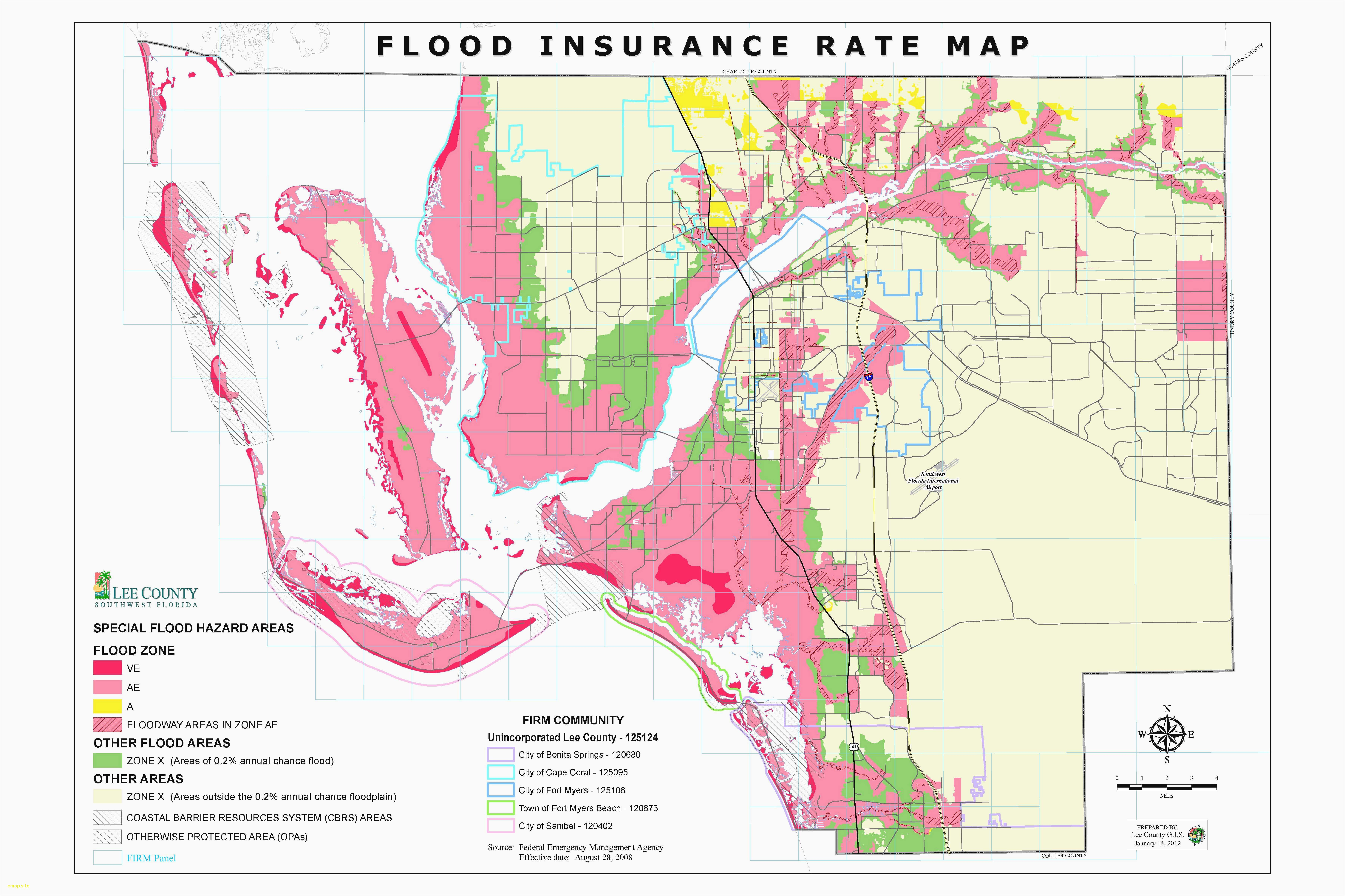 Lee County Florida Cities | Www.topsimages - Lee County Flood Zone Maps Florida