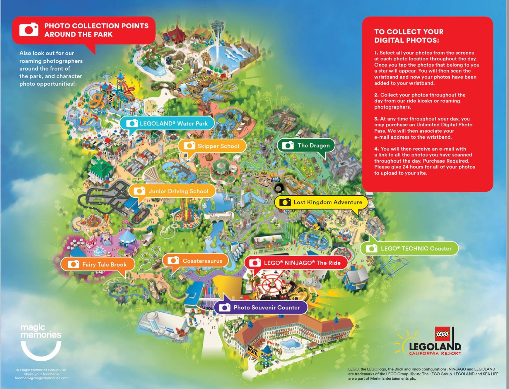 Lego Shopping Options | Legoland California Resort - Legoland California Water Park Map