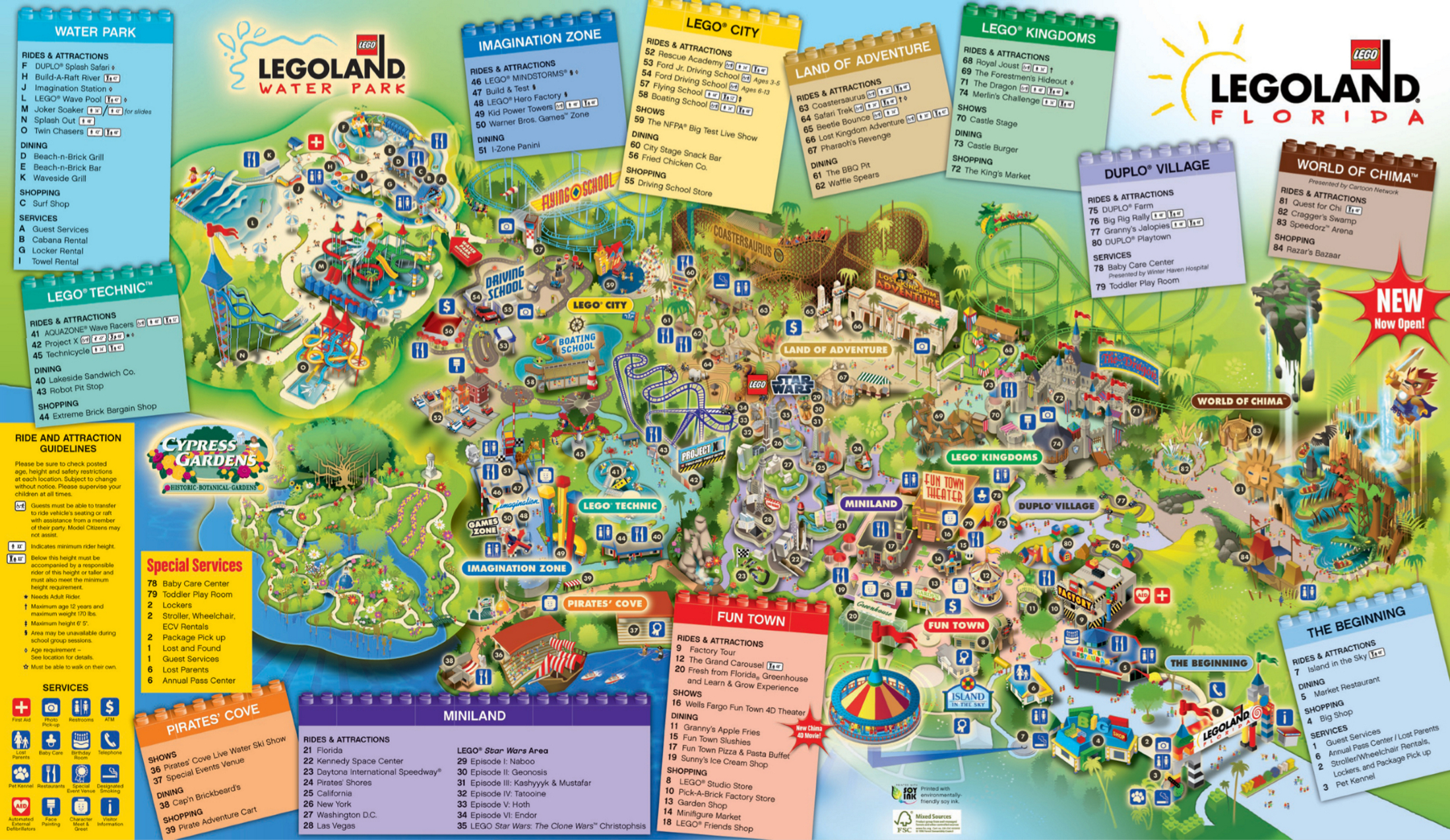 Legoland Ca Printable Map - Printable And Coloring Page ...