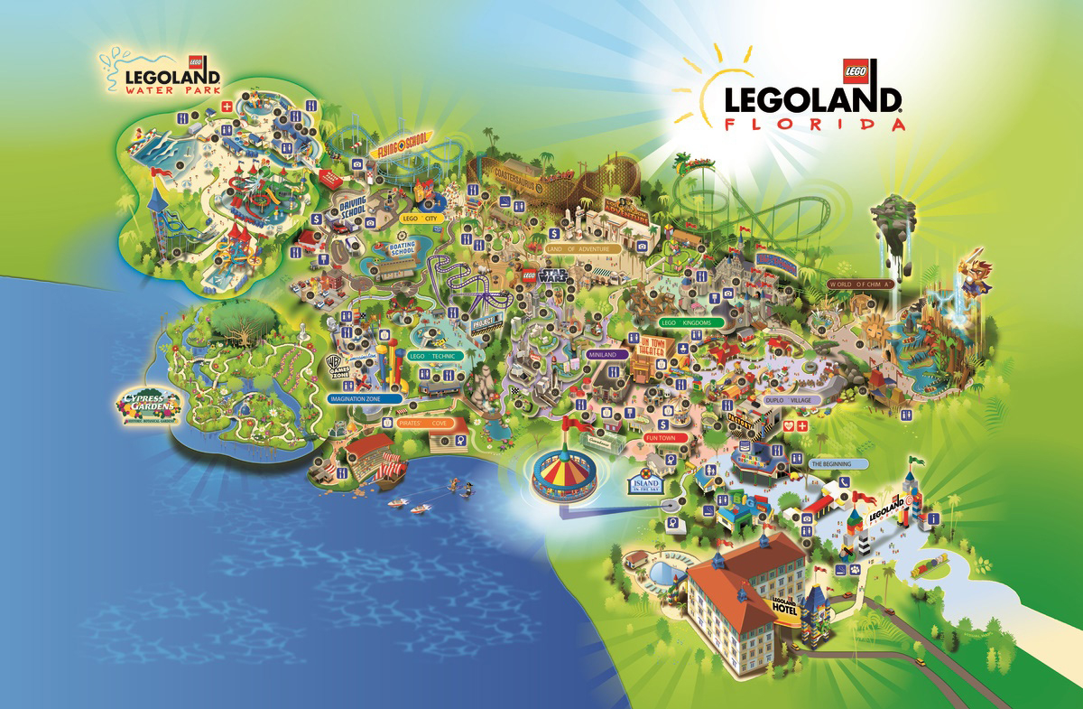 Legoland Florida Hotel Construction Photos - Coaster101 - Legoland Florida Hotel Map