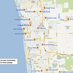 Lely Resort Real Estate For Sale   Lely Florida Map