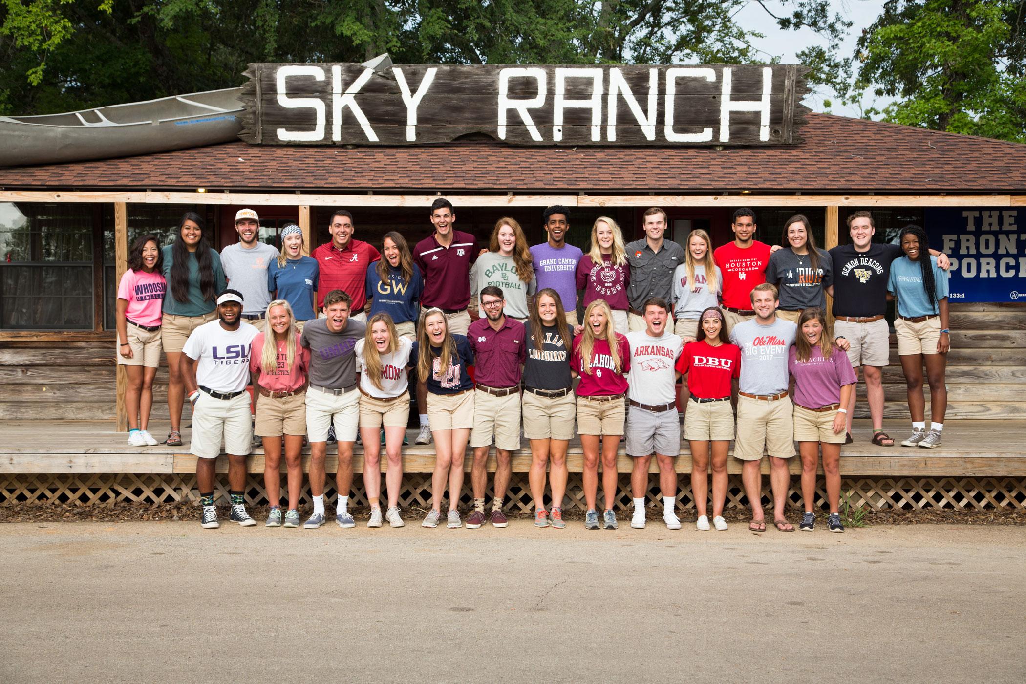 Life Map | Sky Ranch Christian Camps - Sky Ranch Texas Map
