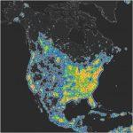 Light Pollution Map California   Klipy   Dark Sky Map California