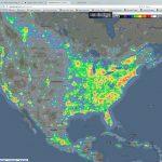 Light Pollution Map California Outline Milky Way   Ettcarworld   Light Pollution Map California