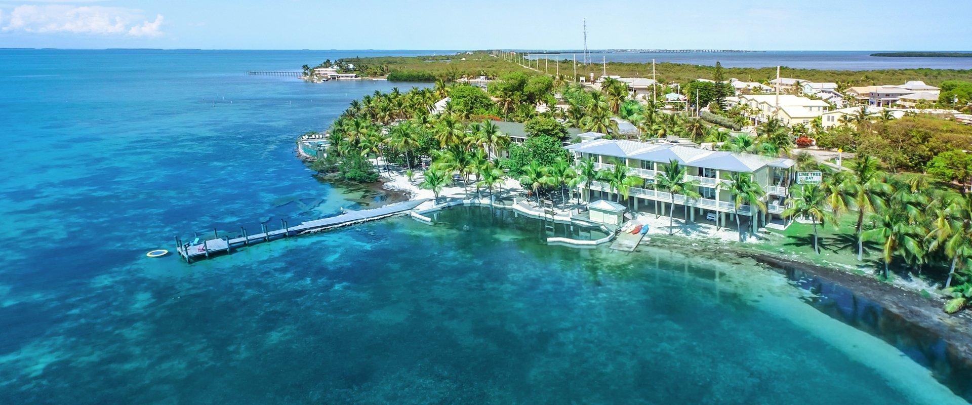 Lime Tree Bay Resort Official Site, Florida Keys Hotel, Islamorada - Map Of Florida Keys Resorts