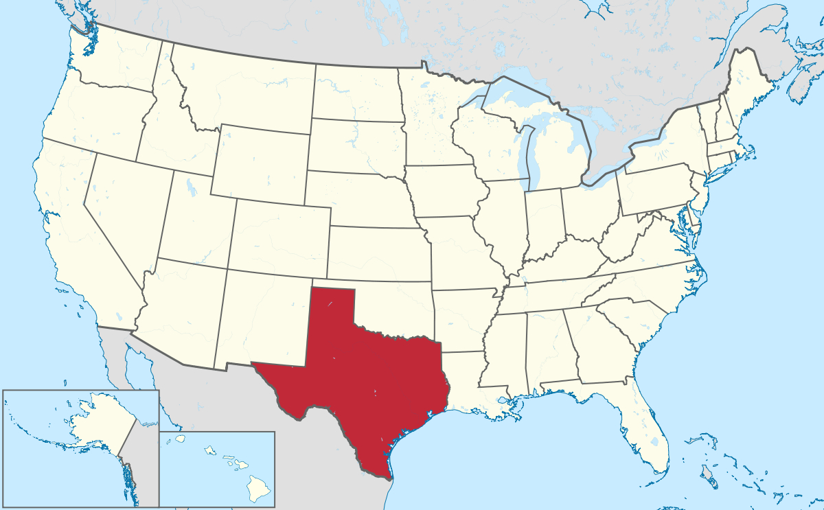 List Of Cities In Texas - Wikipedia - Pampa Texas Map