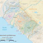 List Of Rivers Of Orange County, California   Wikipedia   California Rivers Map