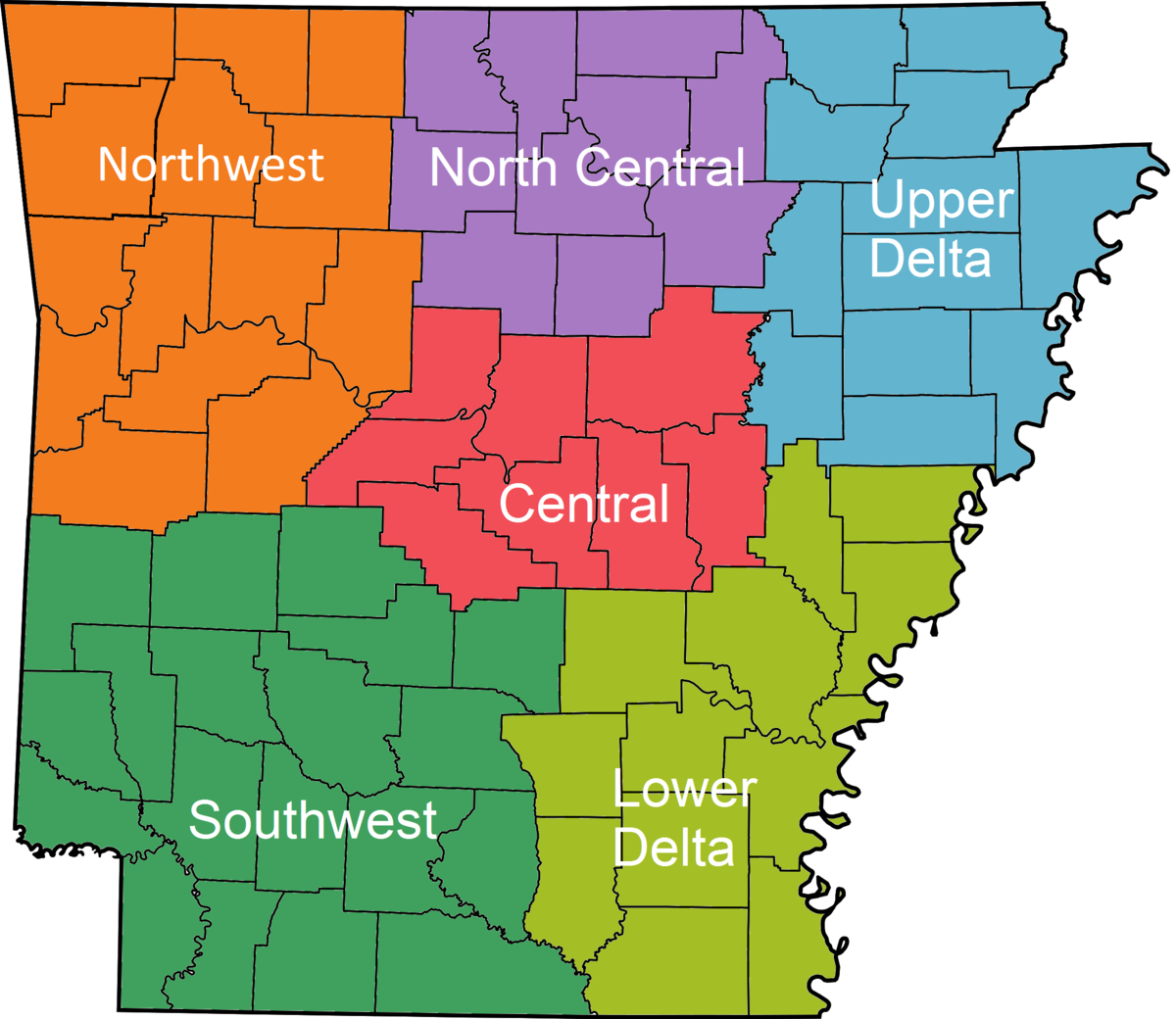 List Of School Districts In Arkansas - Wikipedia - Florida School Districts Map