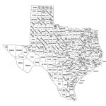 List Of Texas County Seat Name Etymologies – Wikipedia – Texas State Map With Counties