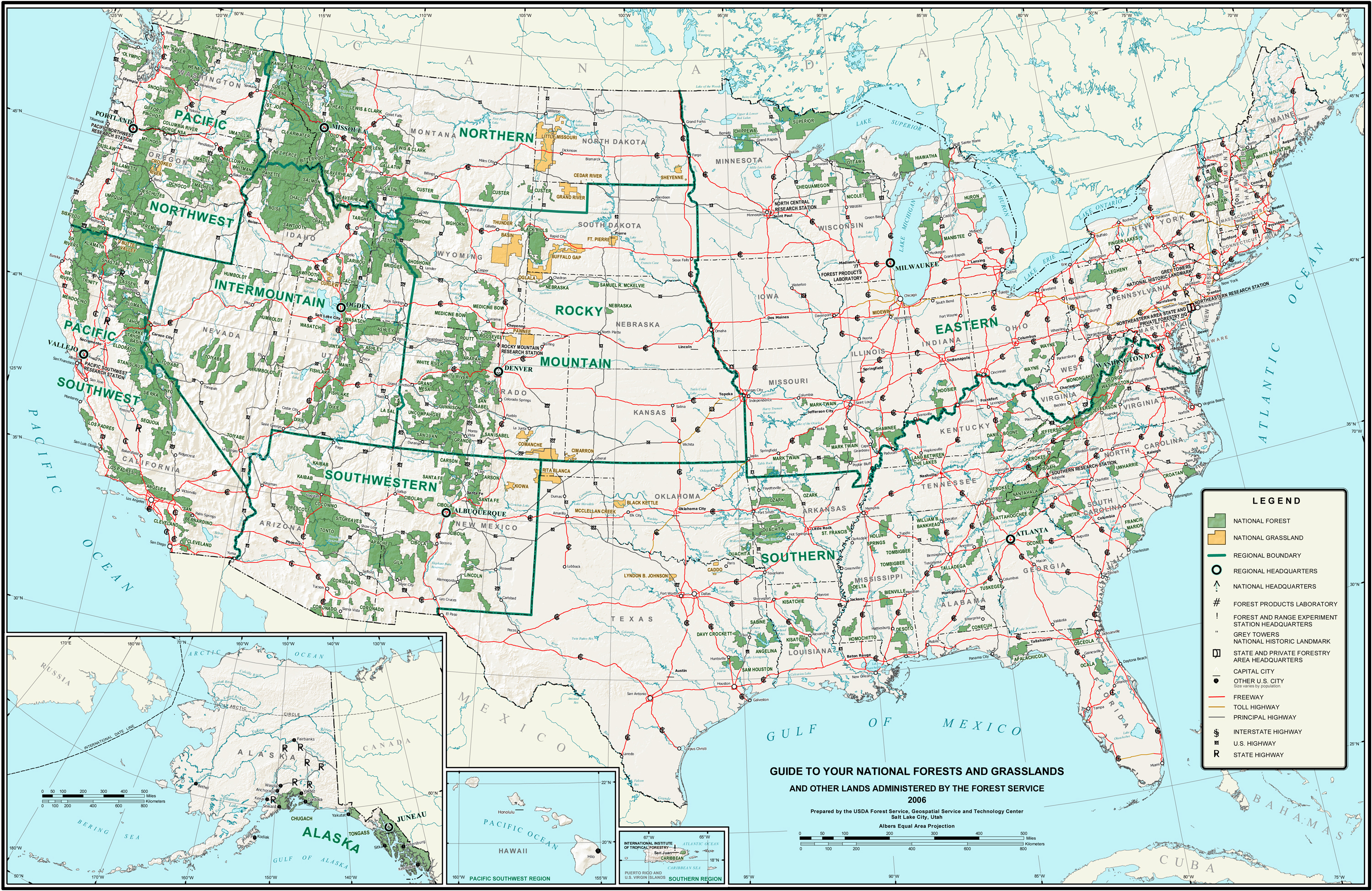 List Of U.s. National Forests - Wikipedia - National Forests In Florida Map