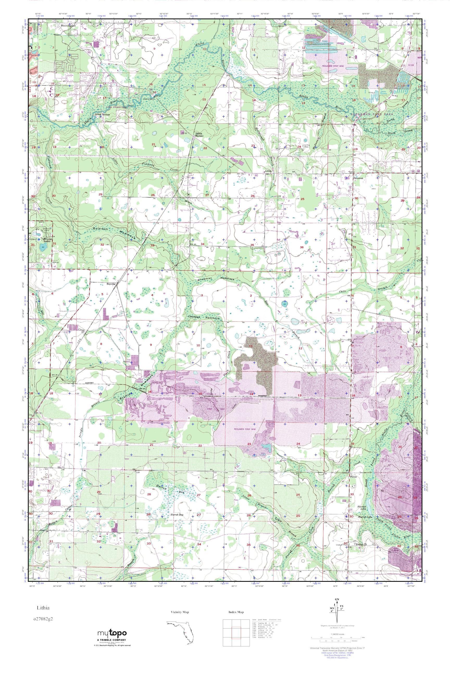 Lithia Florida Map - Lithia Florida Map