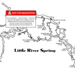 Little River   The Cave Diving Website   Florida Springs Diving Map