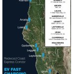 Local Charging Stations – Redwood Coast Energy Authority   Dc Fast Charging Stations California Map