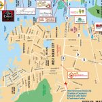 Local Maps | Ocean City Md Chamber Of Commerce   Printable Local Maps
