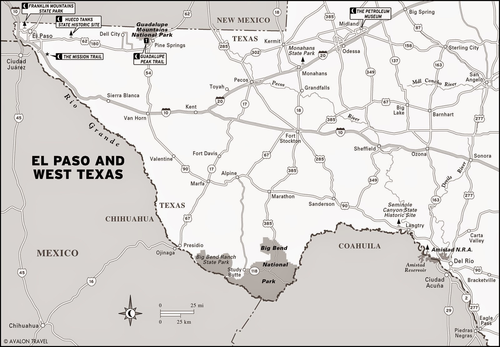 Lode Mining In West Texas - Gold Mines In Texas Map