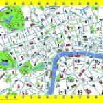 London Detailed Landmark Map | London Maps   Top Tourist Attractions   Printable Children's Map Of London