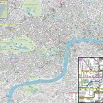 London Maps   Top Tourist Attractions   Free, Printable City Street   Printable Children's Map Of London
