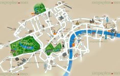 London Maps – Top Tourist Attractions – Free, Printable City Street – Printable Children's Map Of London