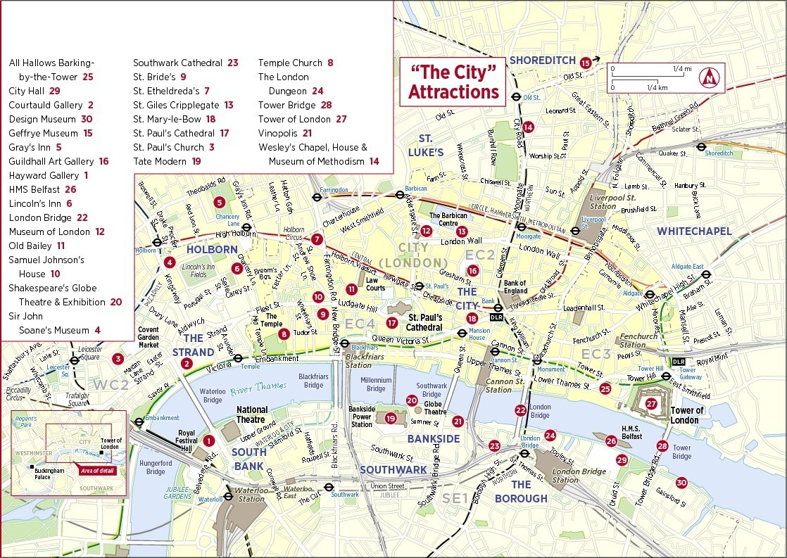 London Tourist Attractions Map Printable Download London England Map - Printable Tourist Map Of London Attractions