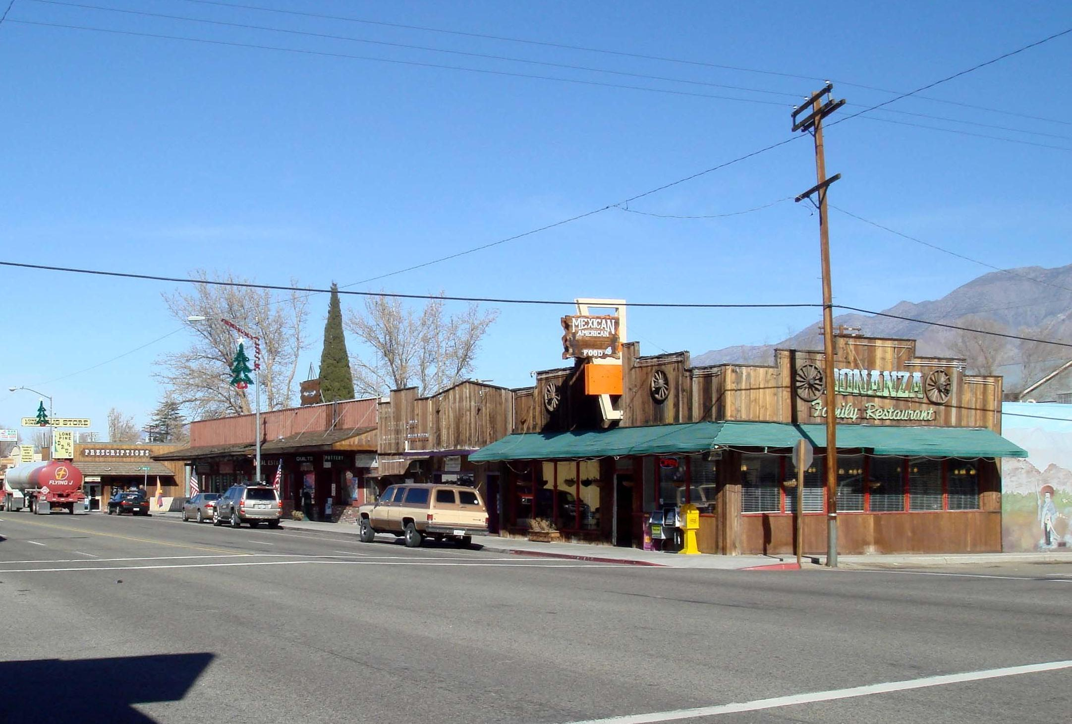 Lone Pine, California - Wikipedia - Lone Pine California Map