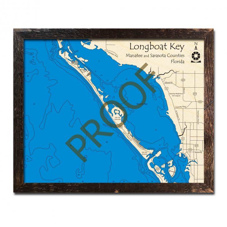 Longboat Key Florida Map
