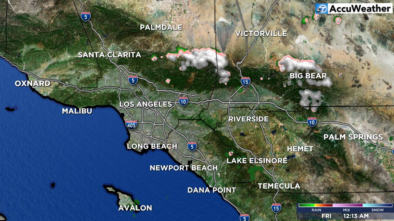 Los Angeles And Southern California News - Abc7 Kabc | Abc7 - Southern California Weather Map