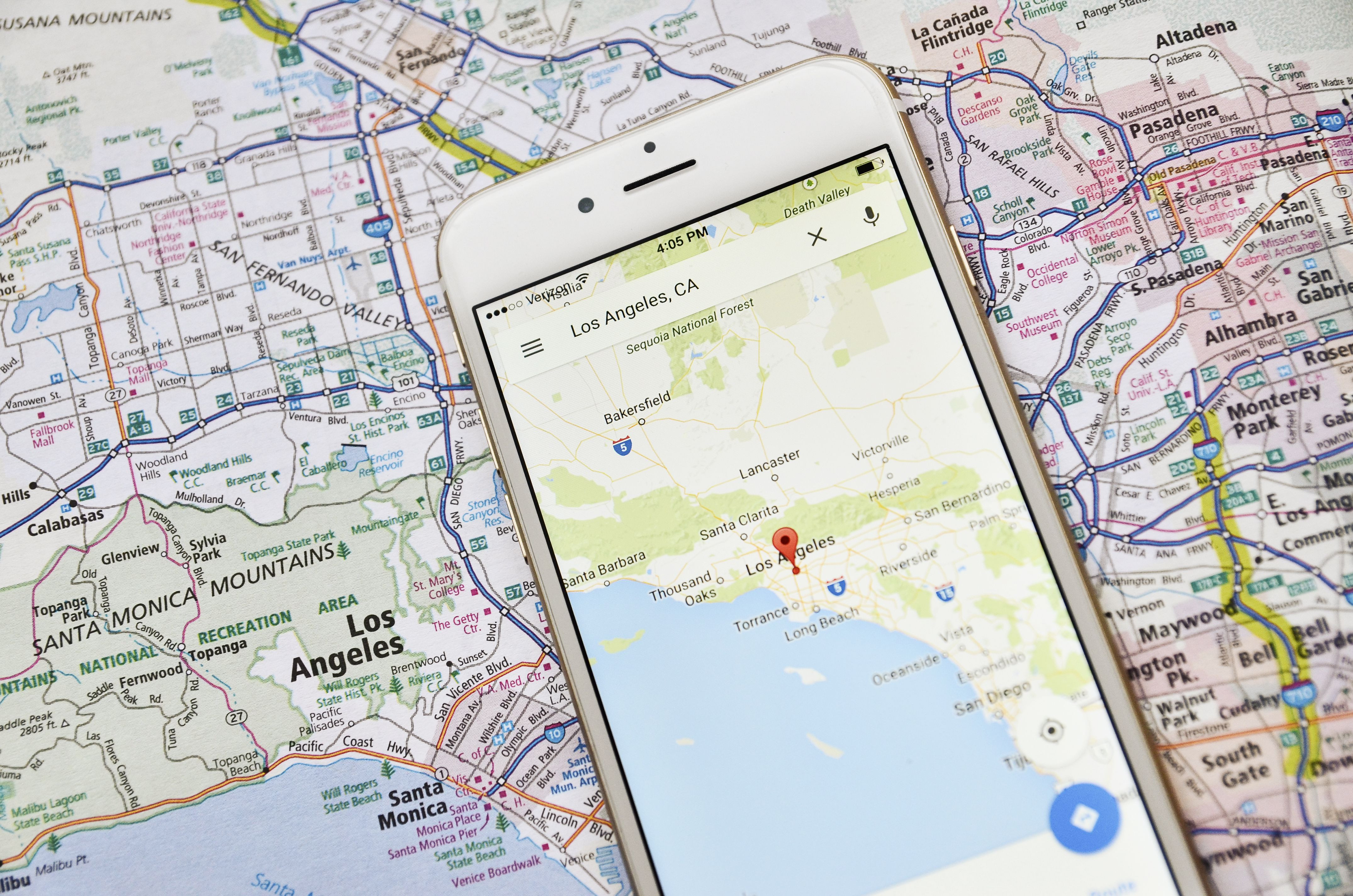 Los Angeles California Google Maps Best Of A Guide To Using Google - Los Angeles California Google Maps