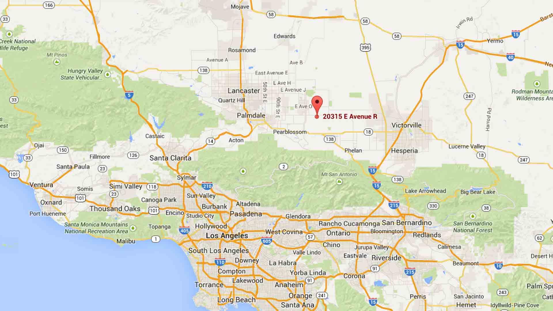 Los Angeles California Map Google - Klipy - Los Angeles California Google Maps
