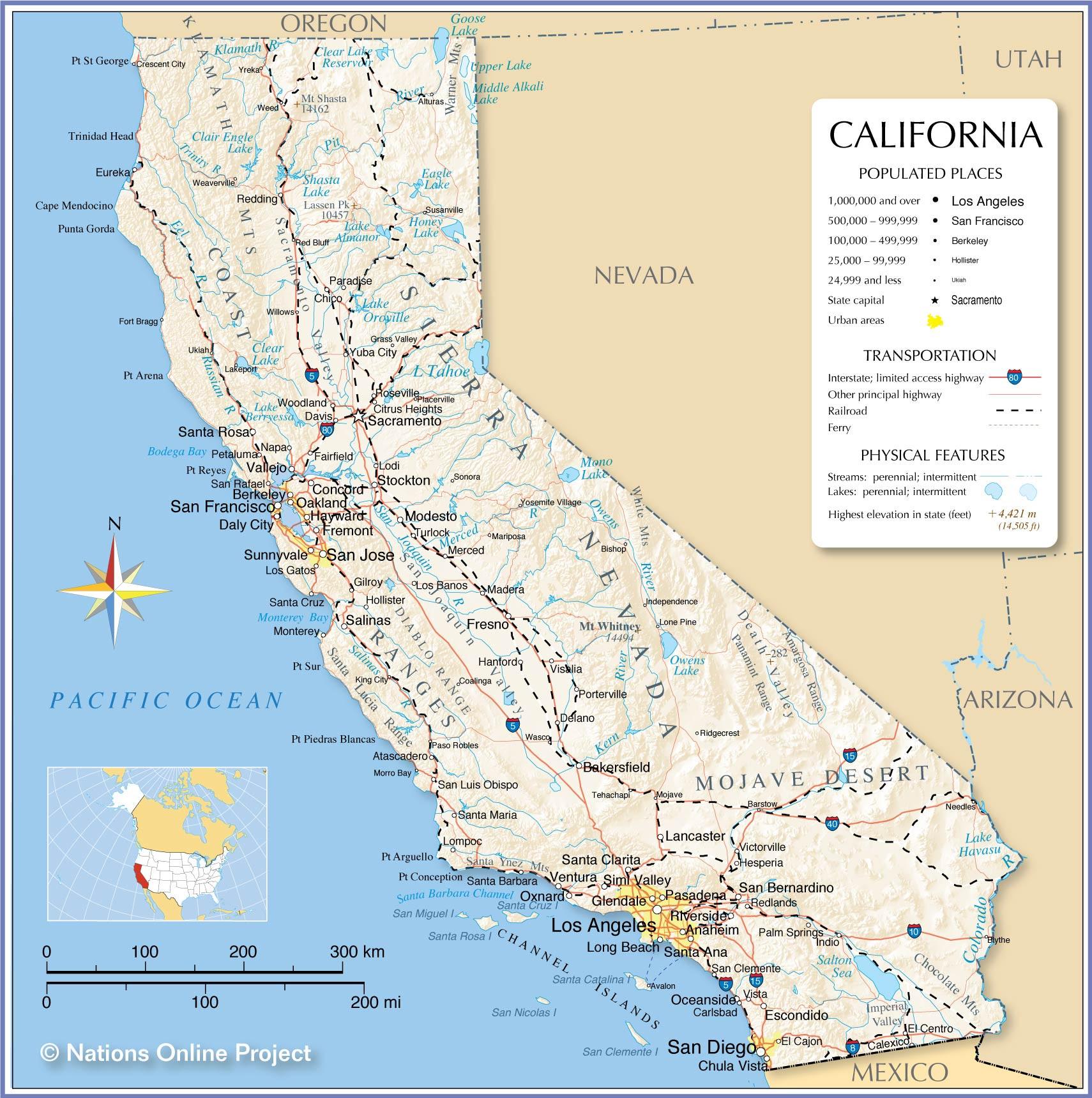 Los Angeles California Map Google New Los Angeles On Us Map - Los Angeles California Map