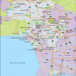Los Angeles Map Map With Zone Venice Beach California Map   Klipy   Map Of Venice California Area