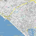 Los Angeles Top Tourist Attractions Map California Santa Monica   Map Of Venice California Area