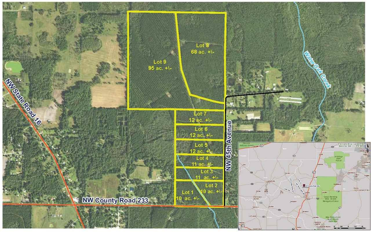 Lot 9 Nw 45Th Avenue, Starke, Fl 32091 (Mls #400657) :: Thomas - Starke Florida Map