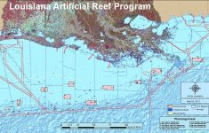 Louisiana Artificial Reef Program | Louisiana Department Of Wildlife – Texas Gulf Coast Fishing Maps