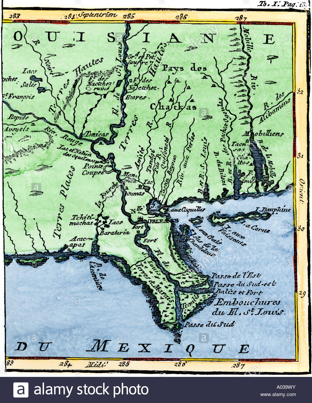 Louisiana Mississippi Map And Travel Information | Download Free - Mississippi Florida Map